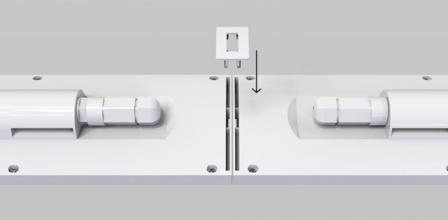 Flat: водонепроницаемые потолочные светильники LED, спроектированные в Италии. - 2