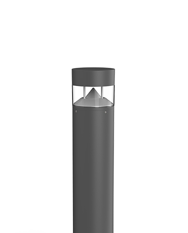 Flat P - Bollard with pole of various heights