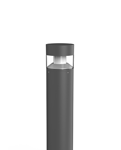 Flat Q - Bollard with pole of various heights