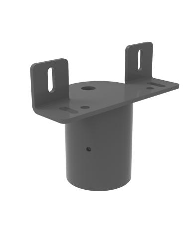 Pole mounting bracket